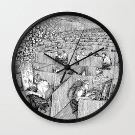 Escaping Monotony Wall Clock