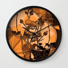 Briar Moon XVII Wall Clock