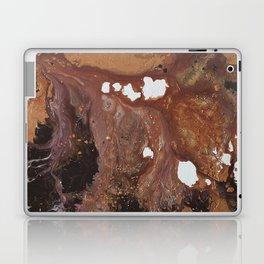 Copper abstract liquidity. Laptop & iPad Skin