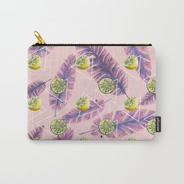 Banana leaf and lemons Carry-All Pouch