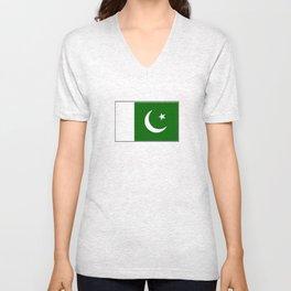 pakistan country flag Unisex V-Neck