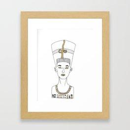 Queen of the Nile Framed Art Print