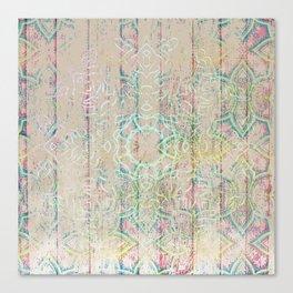 Tribal Mandala Canvas Print
