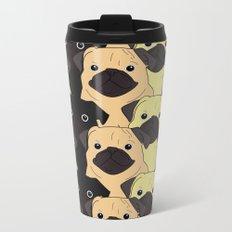 Pugs Pugs Pugs Metal Travel Mug