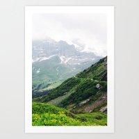 switzerland Art Prints featuring Switzerland by Tana Helene