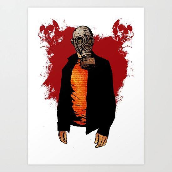 The Haunted Hunter Art Print