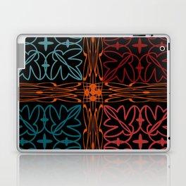 Teal Motif Laptop & iPad Skin