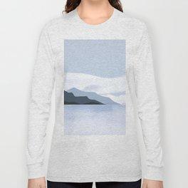 Calmness of Blue Long Sleeve T-shirt