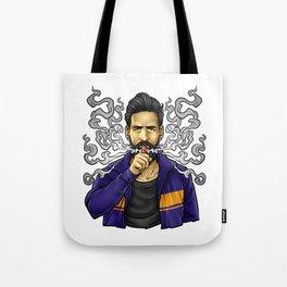 Cloud Chaser - Vaping Bearded Guy Tote Bag
