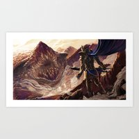 Dalinar the Blackthorn Art Print