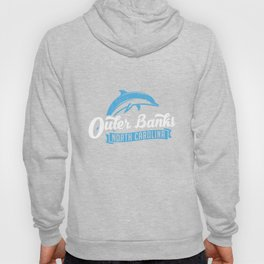 Outer Banks Dolphin TShirt, Outer Banks Beach Tee, NC Tee Hoody
