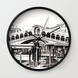 Ponte di Rialto (Rialto Bridge) Wall Clock