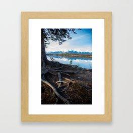 stumble Framed Art Print