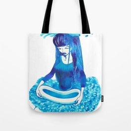 Baby Blue #4 Tote Bag