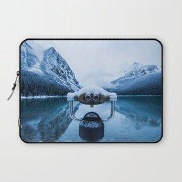 Lake Louise Binoculars Laptop Sleeve