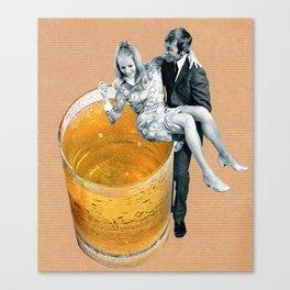Any refreshment, dear? Canvas Print