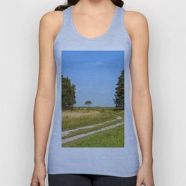 Central Russia Country Road Unisex Tank Top