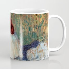 """Henri de Toulouse-Lautrec """"Red-Haired Woman on a Sofa"""" Coffee Mug"""