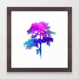 Trip Tree Framed Art Print