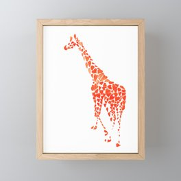 Giraffe Framed Mini Art Print