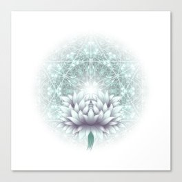 Tibet. Sacred geometry. Flower of Life Canvas Print