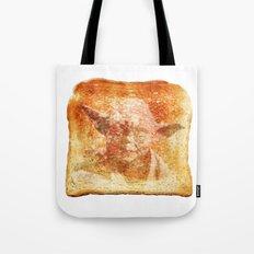 yoda toast Tote Bag