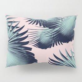 Fan Palm Leaves Paradise #8 #tropical #decor #art #society6 Pillow Sham