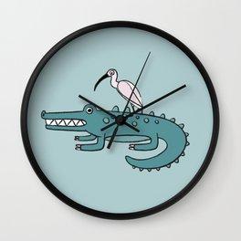 Public Transportation Wall Clock