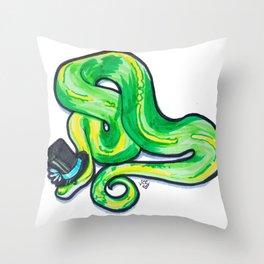 Gentleman Hiss Throw Pillow