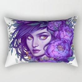 Purple Witch Rectangular Pillow