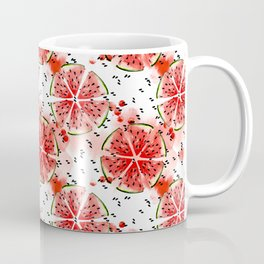 Fresh watermelon in watercolor! Coffee Mug
