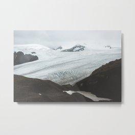 Harding Ice Field Metal Print
