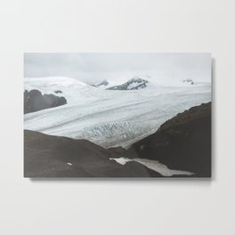 Harding Ice Field Metal Print