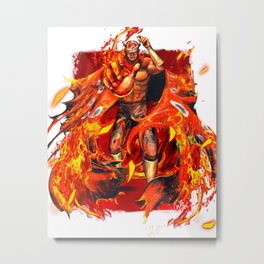 Rubicante of the Four Fiends Metal Print