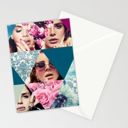 Lana Del Floral Stationery Cards