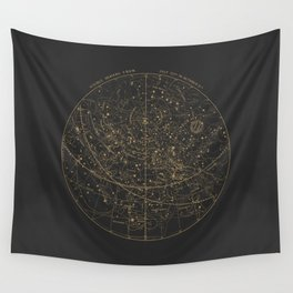 Visible Heavens - Dark Wall Tapestry