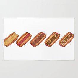 Evolution of A Hotdog Rug
