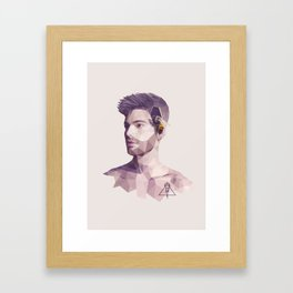 The Hive Mind Framed Art Print
