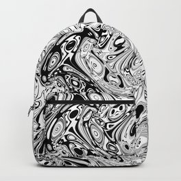 Abstract pseudorganic tissue Backpack