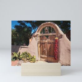 Josephina's Gate - Mesilla, New Mexico Mini Art Print