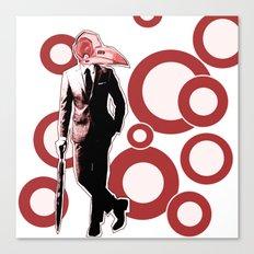 Gentlemen, We got a dead one here.. RED Version Canvas Print