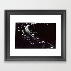 lights over 18 Framed Art Print