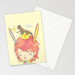 CROWN NEST - GOZILLA KING 고질라킹 Stationery Cards