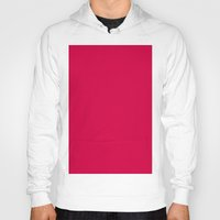 utah Hoodies featuring Utah Crimson by List of colors