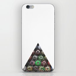 Graffiti Spray Cans - Geometric Photography iPhone Skin