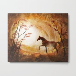 Heaven Sent Metal Print