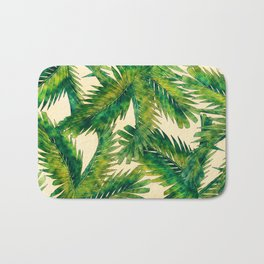 Palms #palm #palms #flower Bath Mat