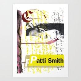 Calligraphy 4 Art Print