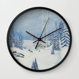 PEC LAKE TRAIL Wall Clock