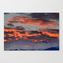 Veleta Canvas Print